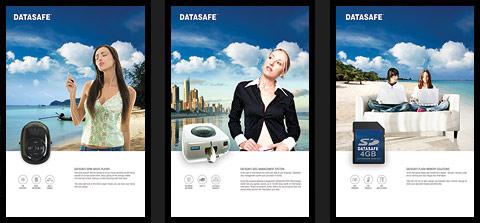 Datasafe flyers