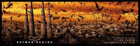 Batman Begins. Plakat.