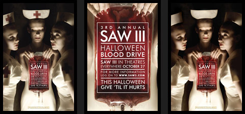 Saw 3 vs Red Cross.