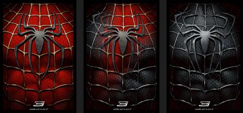 Spider Man 3 poster.