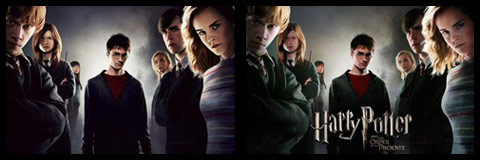 Plakat: Hermiona. Zakon Feniksa. Harry Potter.