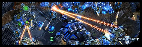 Starcraft 2. Blizzard. Screenshot