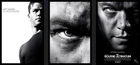 The Bourne Ultimatum. Plakat.