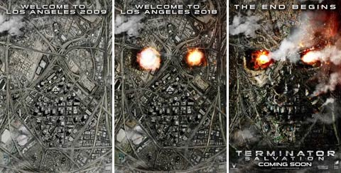 Terminator Salvation poster.